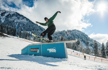Snowpark im Kleinwalsertal: Crystal Ground