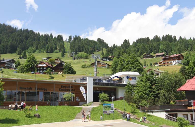 Kleinwalsertal: Sommer in Hirschegg