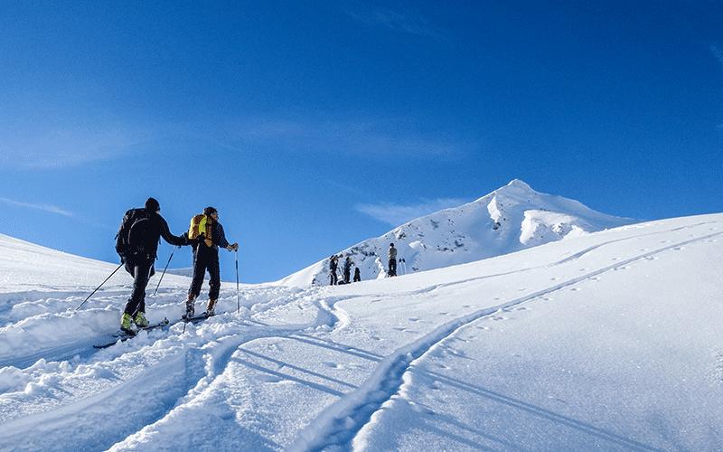 Alpin-Tiefschneetage im Kleinwalsertal