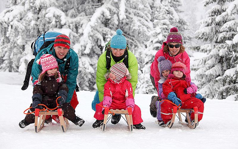 Wintersaison 2017/18 am Söllereck im Kleinwalsertal: Wintersport für Familien.